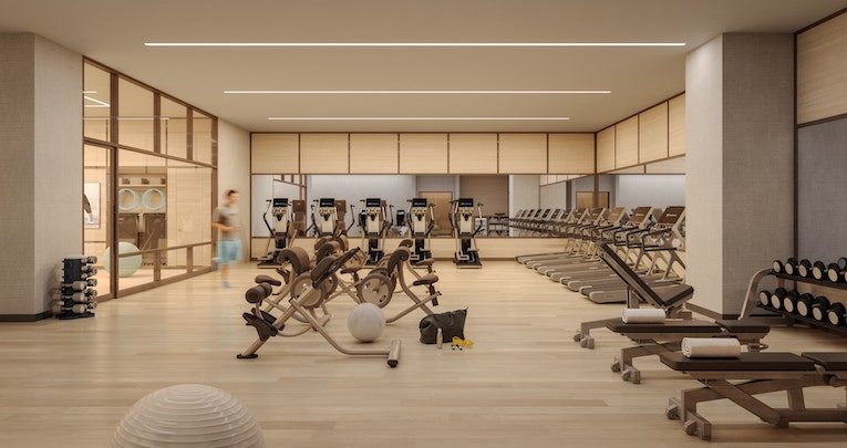 Skyline Tower fully-equipped fitness facility