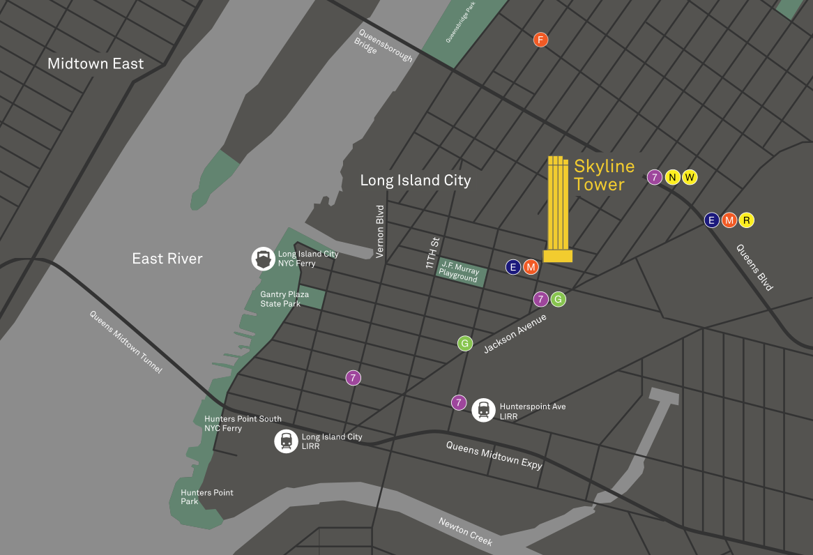 Long Island City Map
